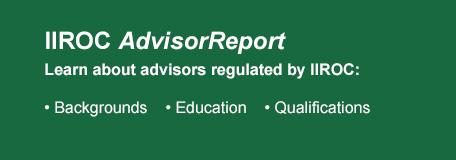IIROC AdvisorReport Logo